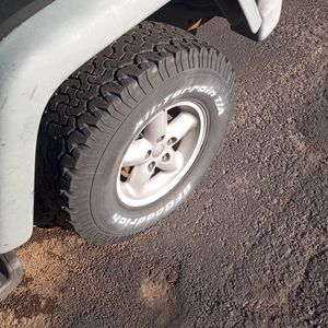 1997 Jeep Wrangler Wheels And Tires for Sale in King of Prussia, PA