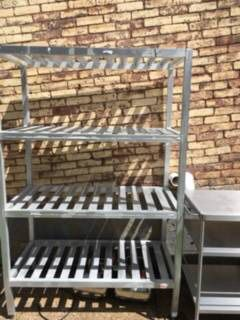 Adjustable Aluminum Shelving for Sale in Pittsburgh, PA