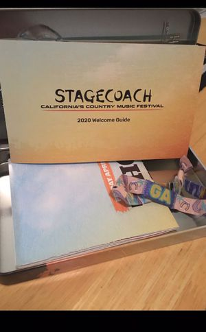 Stagecoach General Admission ticket for Sale in Highland, CA