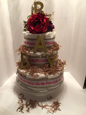 Baby shower Diaper Cakes for Sale in Port Richey, FL
