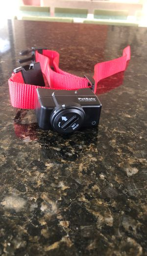 Wireless pet containment system receiver collar for Sale in Madera, CA