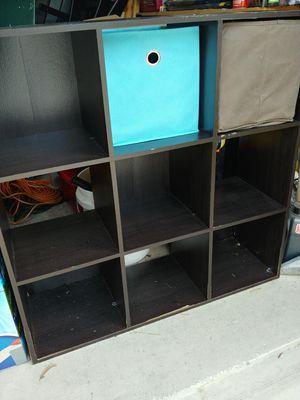 9 Cube organizer shelf for Sale in Riverview, FL