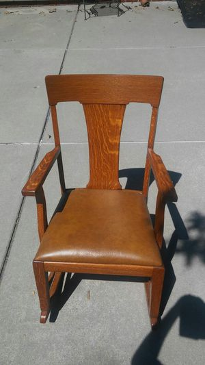 Antique Sikes Rocking Chair From 1910 for Sale in Warren, MI