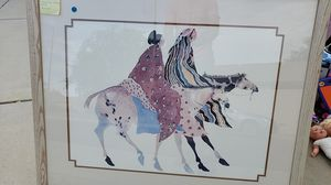 Horses Love Watercolor by Carol Grigg for Sale in Peoria, AZ