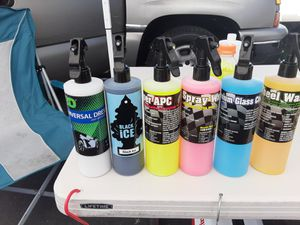 Super kit details para lavar y detallar carros de 16oz for Sale in Long Beach, CA