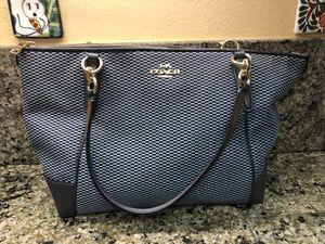 Beautiful Blue Coach Handbag for Sale in Oceanside, CA