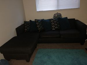 Blue Couch for Sale in Cleveland, OH