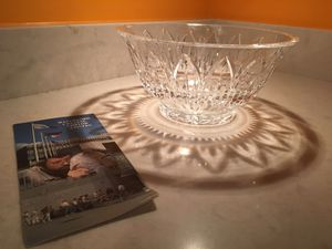 BEAUTIFUL LARGE WATERFORD CRYSTAL BOWL for Sale in Arlington, VA