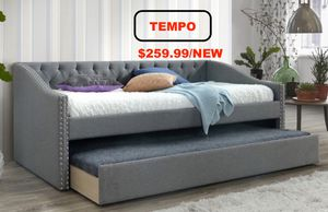 Twin Fabric Day Bed, Grey for Sale in Huntington Beach, CA