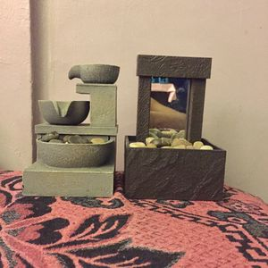 Concrete Bowl and Mirrored Wall LED Fountains for Sale in Philadelphia, PA