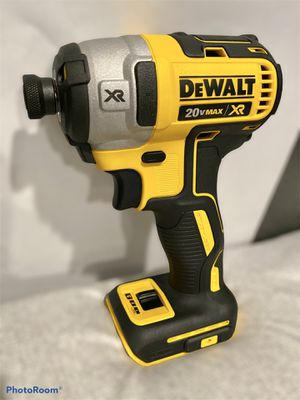 20-Volt MAX XR Lithium-Ion Cordless Brushless 3-Speed 1/4 in. Impact Driver (Tool-Only) for Sale in Azusa, CA