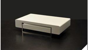 JM Furniture White Lacquer Coffee Table for Sale in Miami, FL