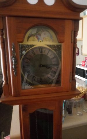 Grandfather Clock with Oriental design for Sale in Nashville, TN