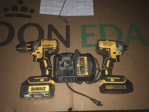 Dewaltimpact drill 3 speed and hammer drill good condition brushless for Sale in Denver, CO