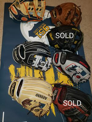 Wilson A2000 11.25-11.75inch (New- Reconditioned/Relaced) for Sale in Riverside, CA