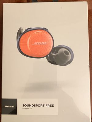 Bose Soundsport Free Wireless Earbuds -New for Sale in Creve Coeur, MO