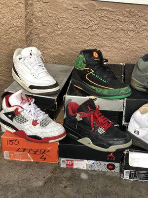 Air Jordan lot size 10-11 for Sale in Las Vegas, NV