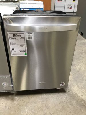 NEW! Whirlpool Stainless Steel Dishwasher w/ Hidden Controls 👀 for Sale in Chandler, AZ