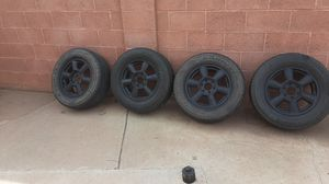 17in rims and tires for Sale in Phoenix, AZ