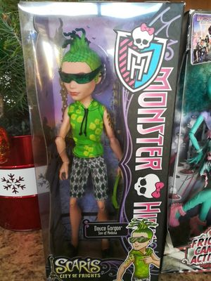 Monster High Doll Deuce Gorgon from the Scaris collection for Sale for sale  Las Vegas, NV