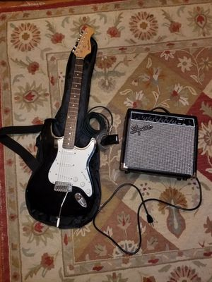 Electric Guitar and Amp for Sale in Woodbridge, VA