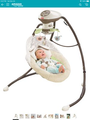 Fisher price baby swing for Sale in Hanover, MD