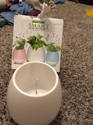 Music flowerpot for Sale in Denver, CO