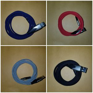high purity zinc alloy fast phone cable charger with blue light length 6.6ft. for Sale in Los Angeles, CA