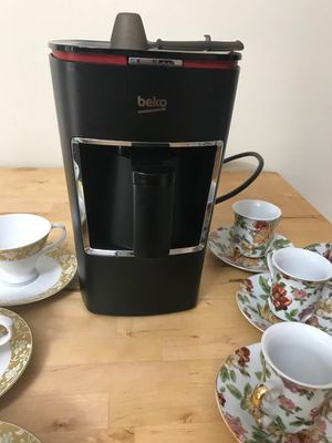 BEKO Turkish coffee maker with 2 set of coffee cups. for Sale in Vienna, VA