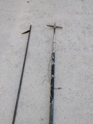 Pre owned lot of two fishing spears for Sale in Jupiter, FL