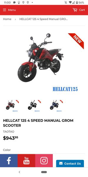 Hellcat 125cc. Grom killer. Wholesale price to you at turbopowersports for Sale in HUNTINGTN BCH, CA