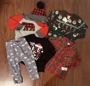 Baby Boy Holiday Lot (6 pc) $15 for Sale in San Jose, CA