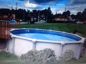 18ft oval pool for Sale in West Mifflin, PA