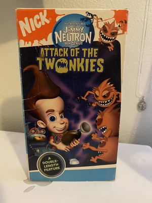Nickelodeon's Jimmy Neutron Attack of the Twonkies Vintage VHS 📼 for Sale in Albuquerque, NM