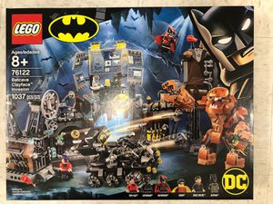 New LEGO 76122 Super Heroes Batcave Clayface Invasion Batman Toy Building Kit with Minifigures for Sale in Washington, DC