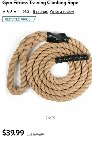 Gym fitness rope for Sale in Coachella, CA