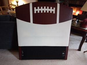 Twin Leather Football Headboard for Sale in Fort Wayne, IN
