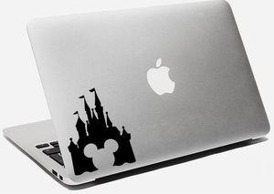 Disney Castle Laptop Vinyl Decal Castle Apple Decal Disney Laptop Decal Macbook Disney Castle Sticker Mickey Macbook Decal for Sale in Lakeside, CA
