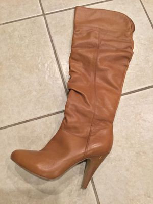 ALDO light brown zipper boots for Sale in San Diego, CA