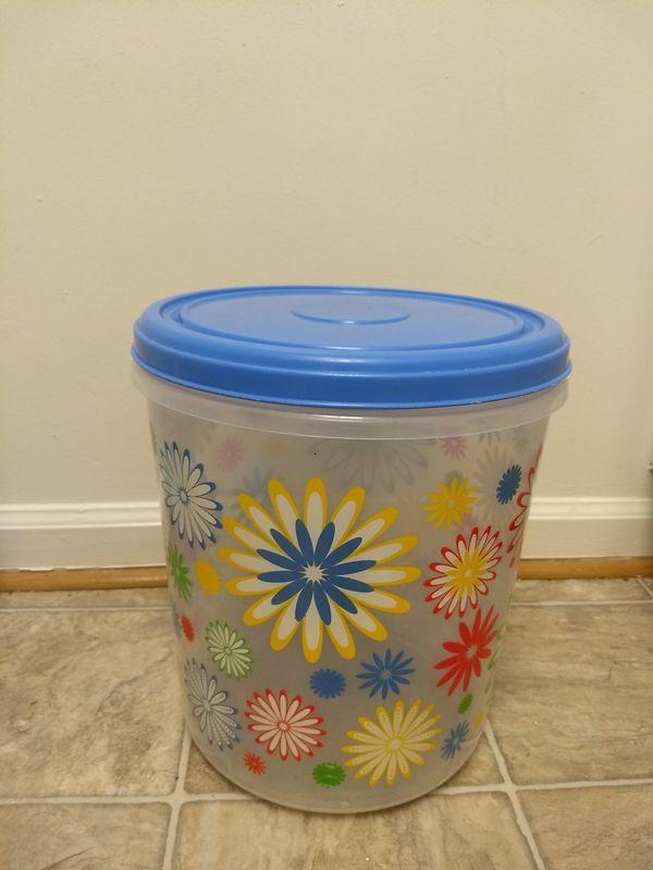 Big plastic storage container