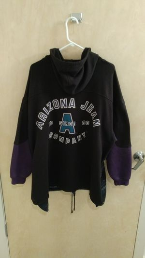 Arizona Jean Company Native Hoodie Black Purple Size L for Sale in St. Louis, MO
