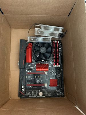 Motherboard/cpu/ram combo for Sale in Bend, OR
