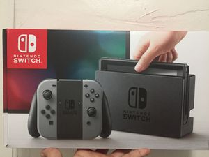 Nintendo Switch (Grey Joycons) Plus 128 GB SD Card and 17 games for Sale in Brooklyn, OH
