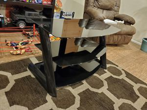 TV glass stand for Sale in Beaumont, CA