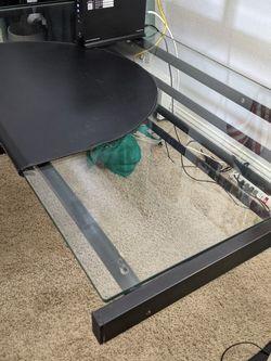 Glass Top Desk for Sale in Mountlake Terrace,  WA