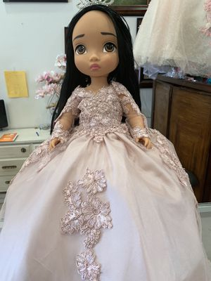 Custom made doll dresses on Disney Dolls for Sale in Paramount, CA