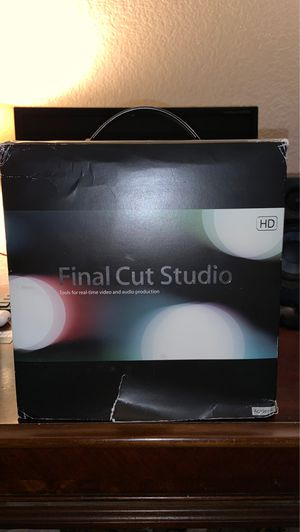 Apple Final Cut Studio 5.1 HD Full Retail Version Boxed Set with Discs & Manual for Sale in Rialto, CA