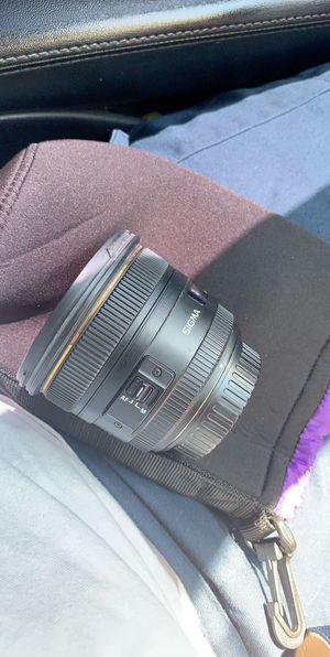 17-55mm Sigma Camera Lens for Sale in Compton, CA