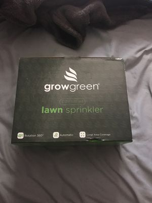 Grow green lawn sprinkler for Sale in Los Angeles, CA