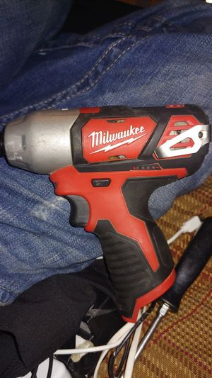 Milwaukee drill an impact no batterys or charger for Sale in Idaho Falls, ID